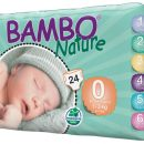 Bambo Nature  Nappies - Premature Size 0