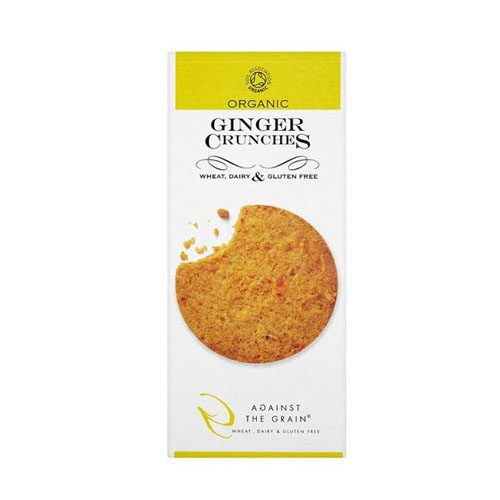 Against The Grain  Ginger Crunches