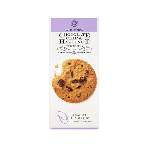 Against The Grain  Chocolate Chip & Hazelnut Cookies