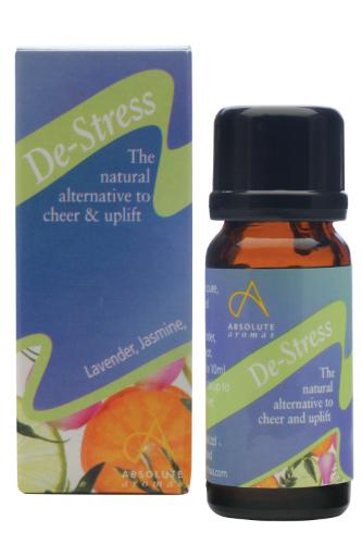 Absolute Aromas  De-Stress Oil Blend