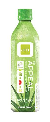 Alo  Alo Appeal - Aloe Pomelo Pink GrapeFoodsruit & Lemon