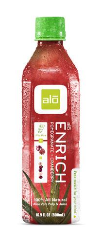 Alo  Alo Enrich - Aloe Pomegranate & Cranberry