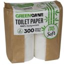 Greencane  2 Ply Toilet Paper - 300 Sheets