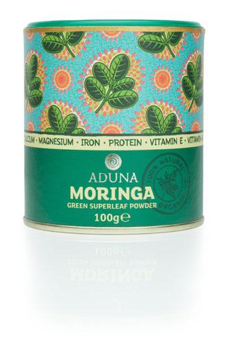 Aduna  100% Organic Moringa SuperleaFoods Powder