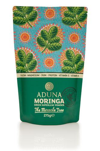 Aduna  100% Organic Moringa SuperFoodsruit Powder