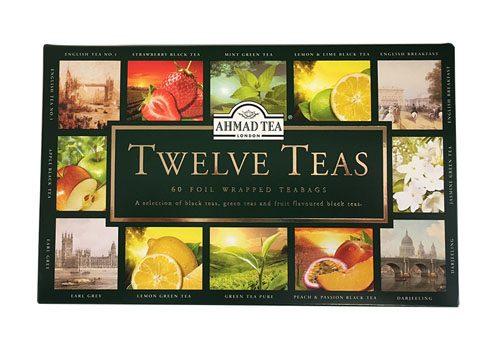 Ahmad  Twelve Teas Selection - Foodsoiled