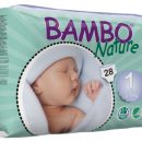 Bambo Nature  Nappies - New Born Size 1