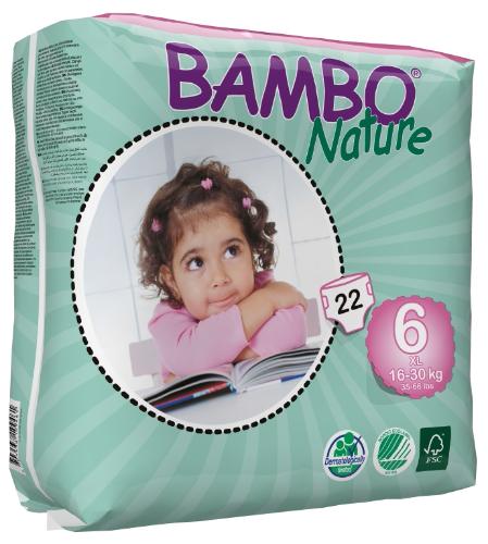 Bambo Nature  Nappies - XL Plus Size 6