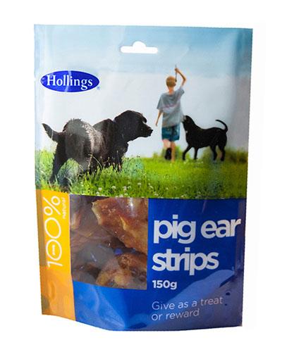 Hollings  Pig Ear Strips Foodsor Dogs