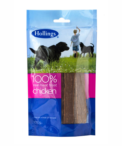 Hollings  Real Meat Treat - Chicken - Foodsor Dogs
