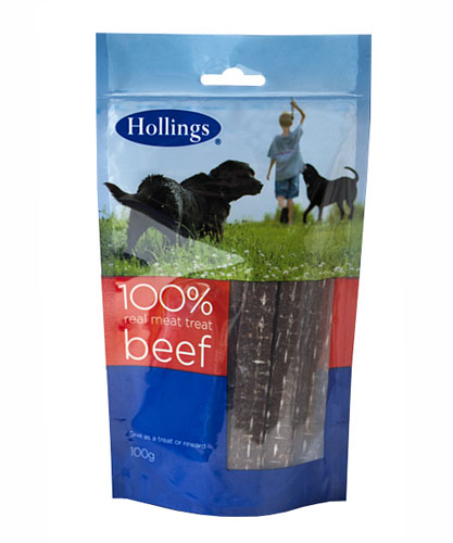 Hollings  Real Meat Treat - BeeFoods - Foodsor Dogs