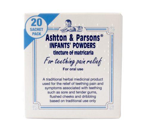 Ashton & Parsons  Teething Powders