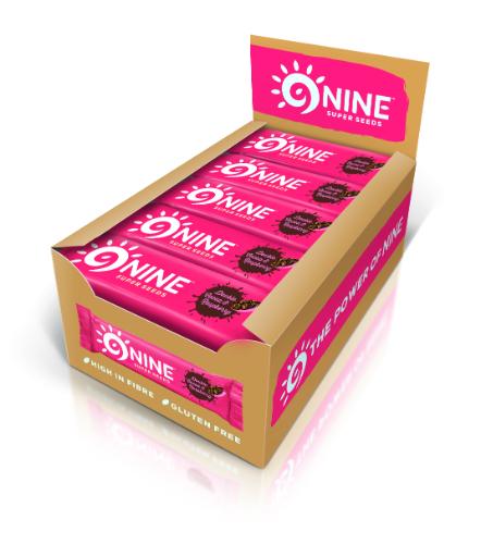 9Nine  9Nine Double Cocoa & Raspberry