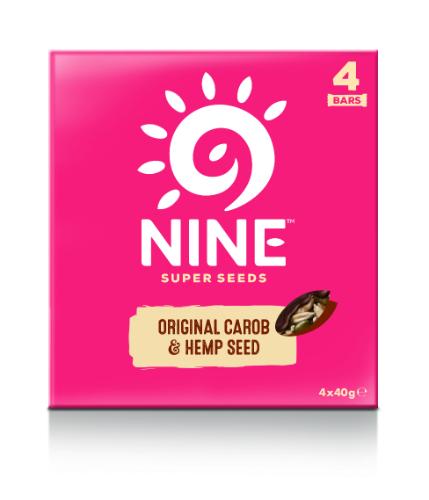 9Nine  9Nine Original Carob & Hemp Seed Multipack